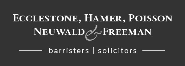 Ecclestone, Hamer, Poisson Neuwald & Freeman